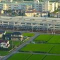 写真: スカイワードあさひ No - 062:展望室からの眺め(名鉄瀬戸線・尾張旭検車区)