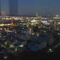 写真: スカイワードあさひ No - 096:展望室からの夜景(名古屋産業大学、瀬戸デジタルタワー)