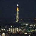 写真: スカイワードあさひ No - 098:展望室からの夜景(瀬戸デジタルタワー)