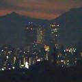 写真: スカイワードあさひ No - 108:展望室からの夜景(名駅ビル群と金城学院大学)