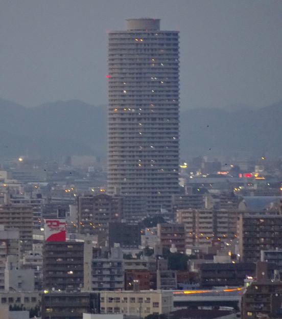 名古屋テレビ塔エレベーターから見えた「ザ・シーン城北」