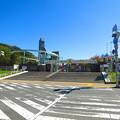 写真: 休園だったの閑散としていた、東山動植物園正門前 - 3