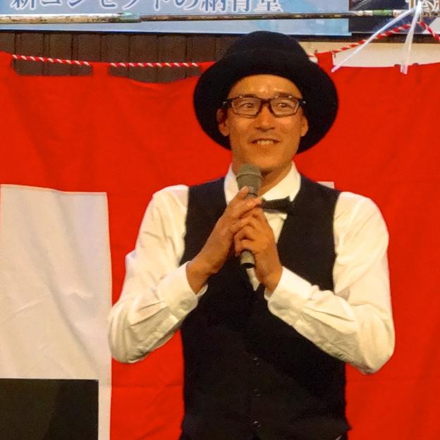 大須大道町人祭 2014 No - 004:パントマイム「池田洋介」(万松寺)