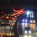 Photos: 渋滞していた、週末の中央道(名古屋方面) - 3