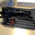 写真: Opera 37リリース記念「広告ブロック機能の速度比較」コンテストの賞品 - 7:ボールペンとサングラス