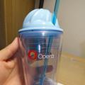 写真: Opera 37リリース記念「広告ブロック機能の速度比較」コンテストの賞品 - 9:フルーツ絞り器付きカップ?