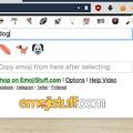 写真: 絵文字入力補助拡張「Emoji Input by EmojiStuff.com」- 5:英語で絞込み