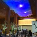 先日オープンしたばかりのJPタワー「KITTE名古屋」 - 38:2階商業部分の光って色が変わる天井