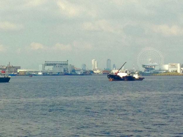 写真: 名古屋港遊覧船から見えた名駅ビル群(2012年9月撮影) - 1