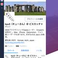 写真: Vivaldi 1.3 お薦めパネル - 1:モバイル版Twitter公式WEB