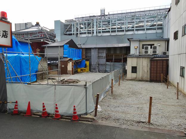 大須商店街:火事で更地となった場所 - 2