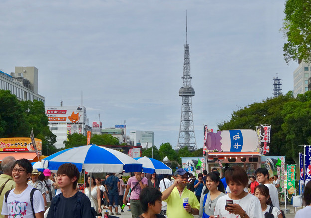 写真: メーテレ秋まつり 2016 No - 7:大勢の人で賑わう会場