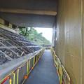 写真: 国道155上の中央道高架で、耐震補強工事実施中 - 7