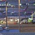 Photos: 県営名古屋空港:FDA機とMRJ - 1