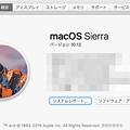 写真: macOS Sierra 10.12:このMacについて