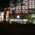 写真: 夜のアップルストア名古屋栄 - 1