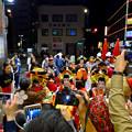 大須大道町人祭 2016:夜の花魁(おいらん)道中 - 14(休憩&着付け等直し中)