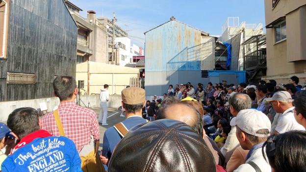 大須大道町人祭 2016 No - 4:大勢の人がいた裏門前中央会場
