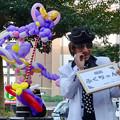 大須大道町人祭 2016 No - 15:バルーン・アーティスト「風船ふくちゃん」とバルーンで作られたドラゴン