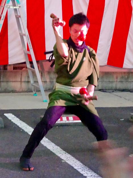 大須大道町人祭 2016 No - 53:けん玉師「伊藤佑介」さんのパフォーマンス