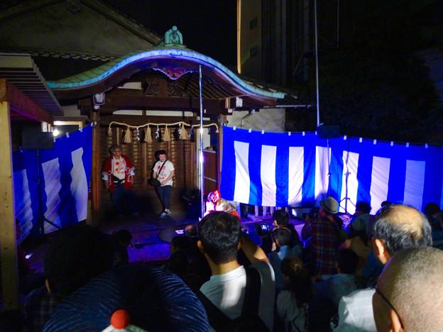 大須大道町人祭 2016 No - 76:ポールダンサー「鷹島姫乃」さんのパフォーマンス(準備中)