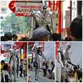 Photos: 大須大道町人祭 2016 No - 90:大須商店街の中を歩く巨大ロボット(?)「バイオニック・サタン」