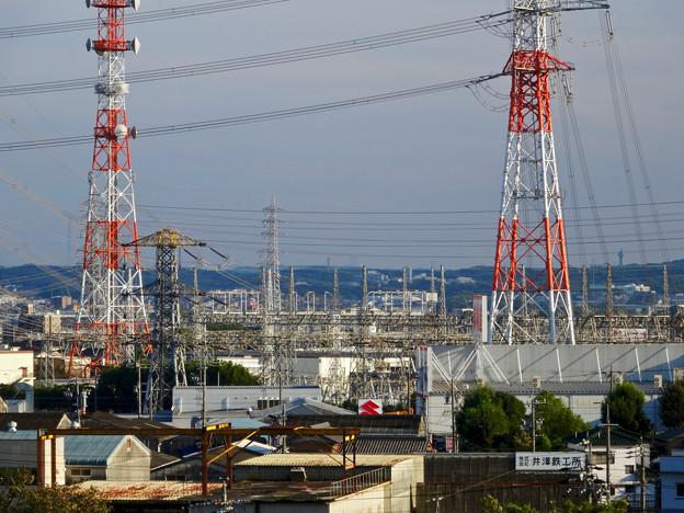 写真: 落合公園:水の塔最上階から見た景色 - 1