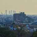 写真: 落合公園:水の塔最上階から見た景色 - 9(名駅ビル群)