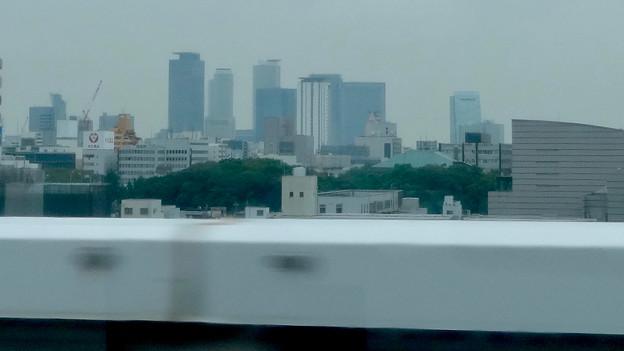 写真: 名古屋高速から見た名駅ビル群 - 2