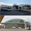 写真: JR春日井駅の新・旧比較(2008年12月と2016年10月)- 3