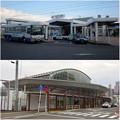 写真: JR春日井駅の新・旧比較(2008年12月と2016年10月)- 5