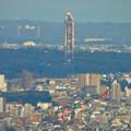 写真: ミッドランドスクエア「スカイプロムナード」から見た景色(夕方) - 85:東山スカイタワー