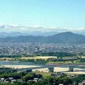 写真: ツインアーチ138から見た金華山(2012年6月撮影) - 6