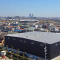 写真: 清洲城から見た名駅ビル群(2012年4月撮影) - 1