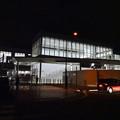写真: 夜のJR春日井駅 - 2