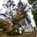 Photos: 広角レンズで撮影した名古屋テレビ塔 - 1