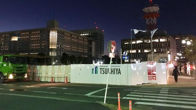 写真: ヤマダ電機の建物が無くなって見通しが良くなった春日井市役所付近 - 1