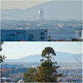 写真: 尾張富士浅間神社から見たツインアーチ138 No - 16