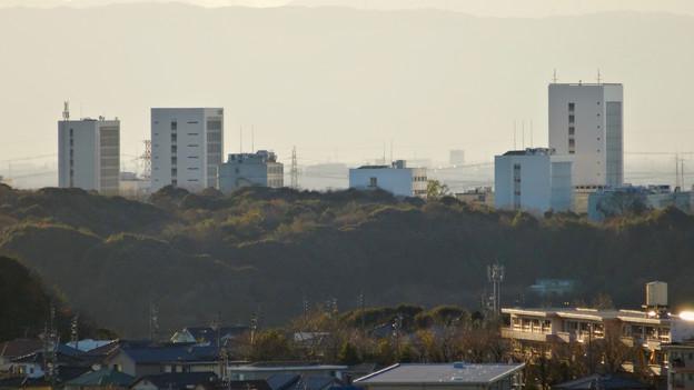 アピタ高蔵寺店屋上から見た景色 - 22:中部大学