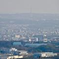 写真: 尾張白山社(白山神社)から見た景色 - 20:瀬戸デジタルタワー