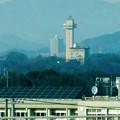 写真: リニモ車内から見えたスカイワードあさひとスカイステージ33 - 2
