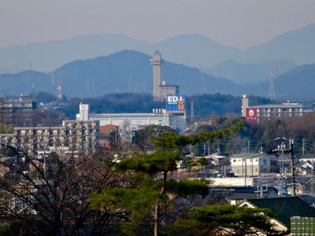 長久手古戦場駅から見たスカイワードあさひ - 1