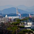 写真: 長久手古戦場駅から見たスカイワードあさひ - 1