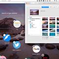 写真: Opera Neon:デスクトップの壁紙と連携し、変わるスピードダイヤル背景 - 1