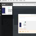 写真: Opera Neon:スクリーンショット撮影機能 - 7(Twitterツイート入力欄にドラッグ)