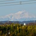 写真: 落合公園 水の塔から見えた御嶽山 - 3