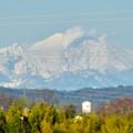 写真: 落合公園 水の塔から見えた御嶽山 - 5