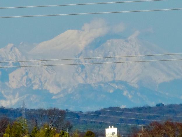 落合公園 水の塔から見えた御嶽山 - 6