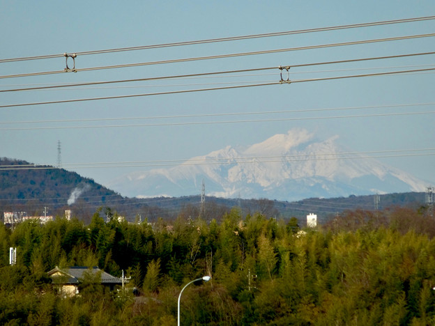写真: 落合公園 水の塔から見えた御嶽山 - 7