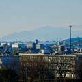 写真: 落合公園 水の塔から見えた伊吹山 - 1